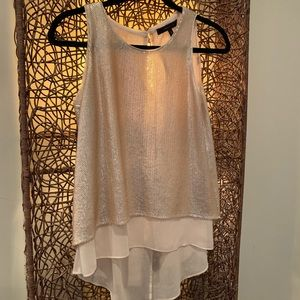 BCBG sequins top
